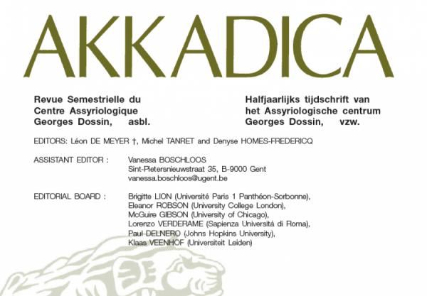 Lidmaatschap + Abonnement Akkadica