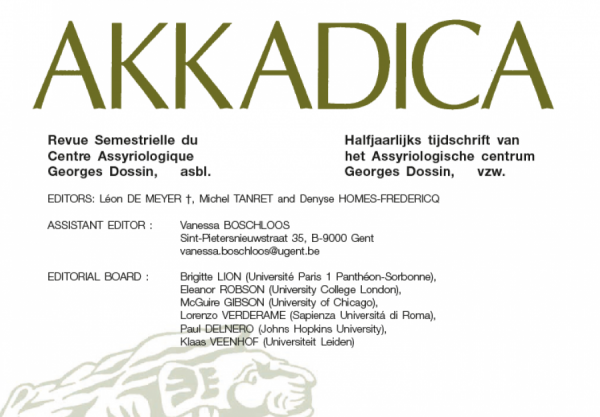 Schenkend lid + Akkadica